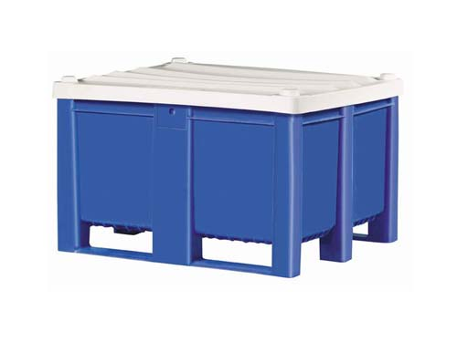 Dolav 1000 Solid Box Pallet 600L with 7726 Lid