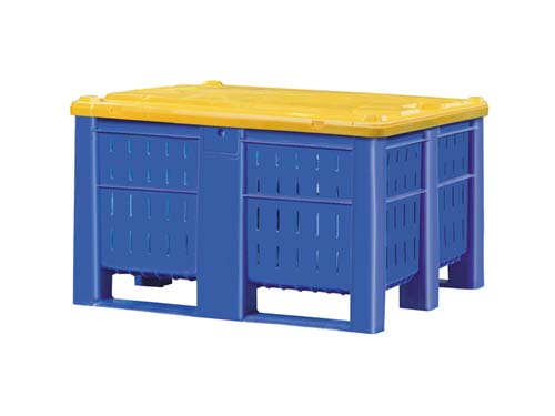 Dolav 1000 Vented Box Pallet 600L with 7726 Lid