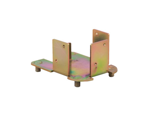 Castor Bracket for Dolav 800 & 1000 Box Pallet - Bottom