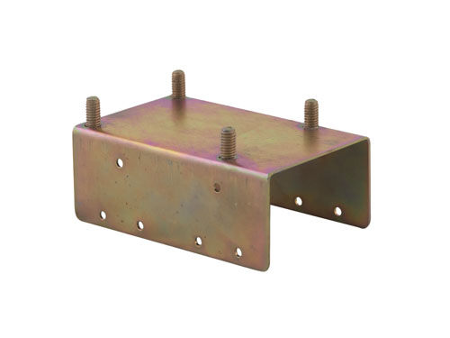 Castor Bracket for Dolav 1120 Box Pallet - Top
