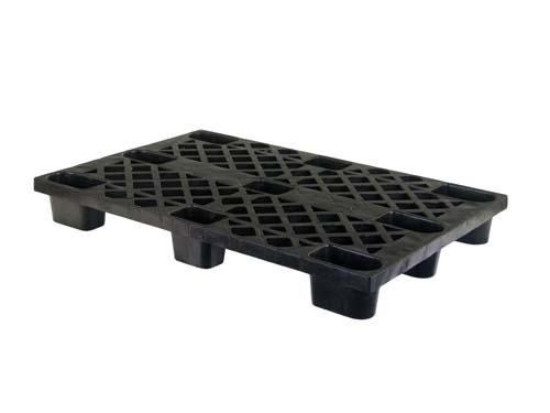 Top of the LogisticX 12-8 lightweight plastic pallet.