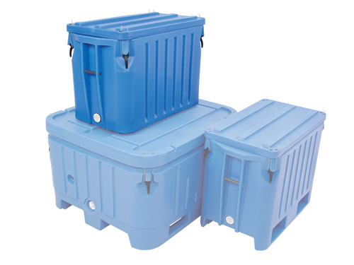 XIN Saeplast DX310B Insulated Container with Lid 265L