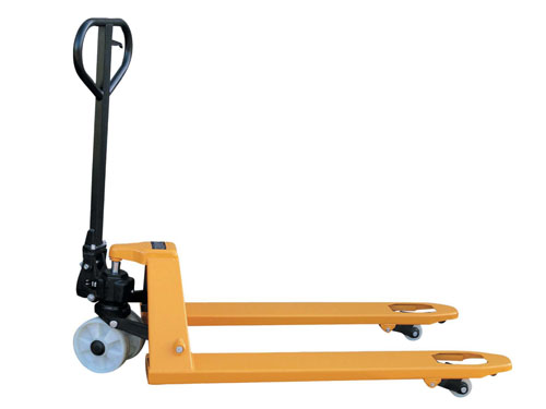 Pallet Truck 2-Way Nylon Wheels 2500kg (Actual product may differ from photograph)