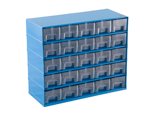 CABINET 25-DRAW T925 BLUE (2114)