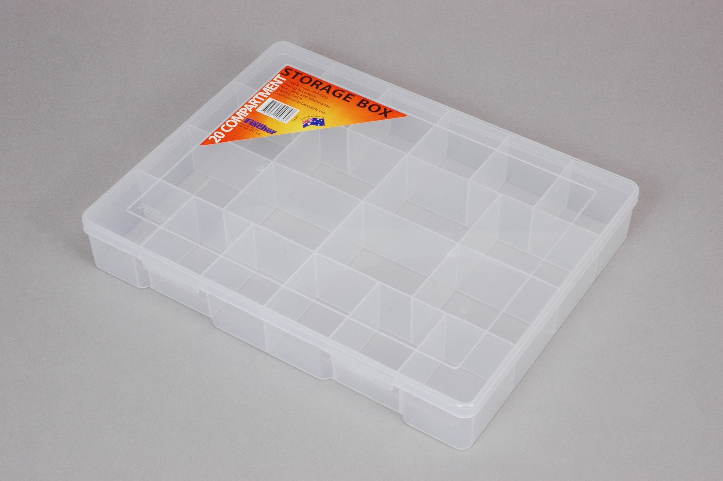 TACKLE BOX 20 COMPARTMENT XLGE (2153)