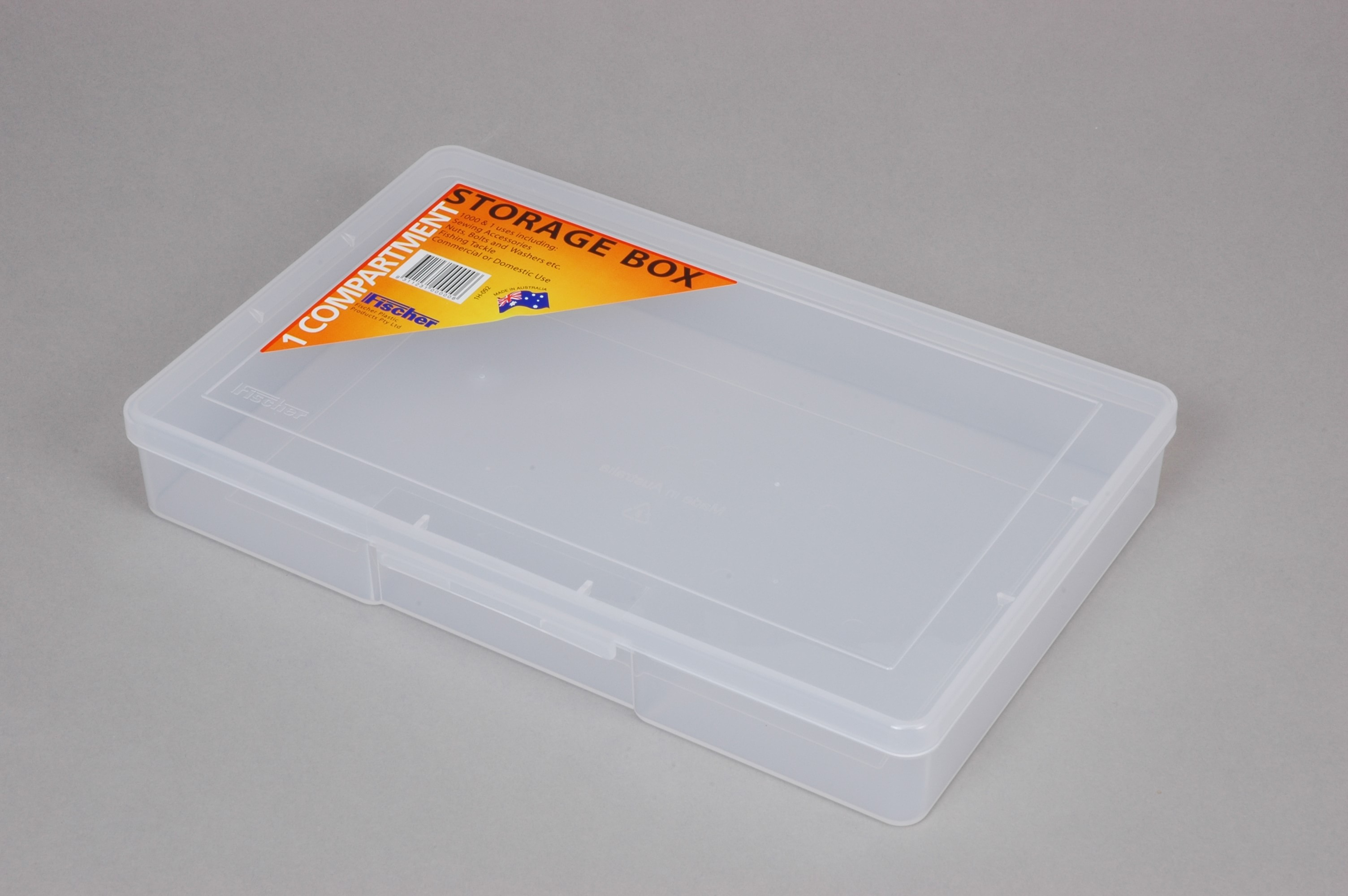 ACCESSORY BOX 1 COMP LARGE CLEAR (2154)