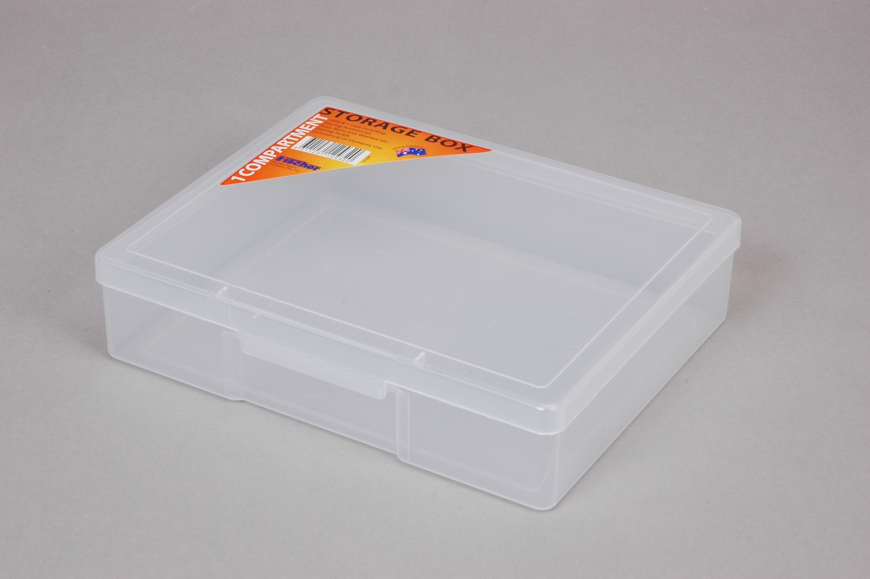 ACCESSORY BOX 1 COMP MED CLEAR (2156)