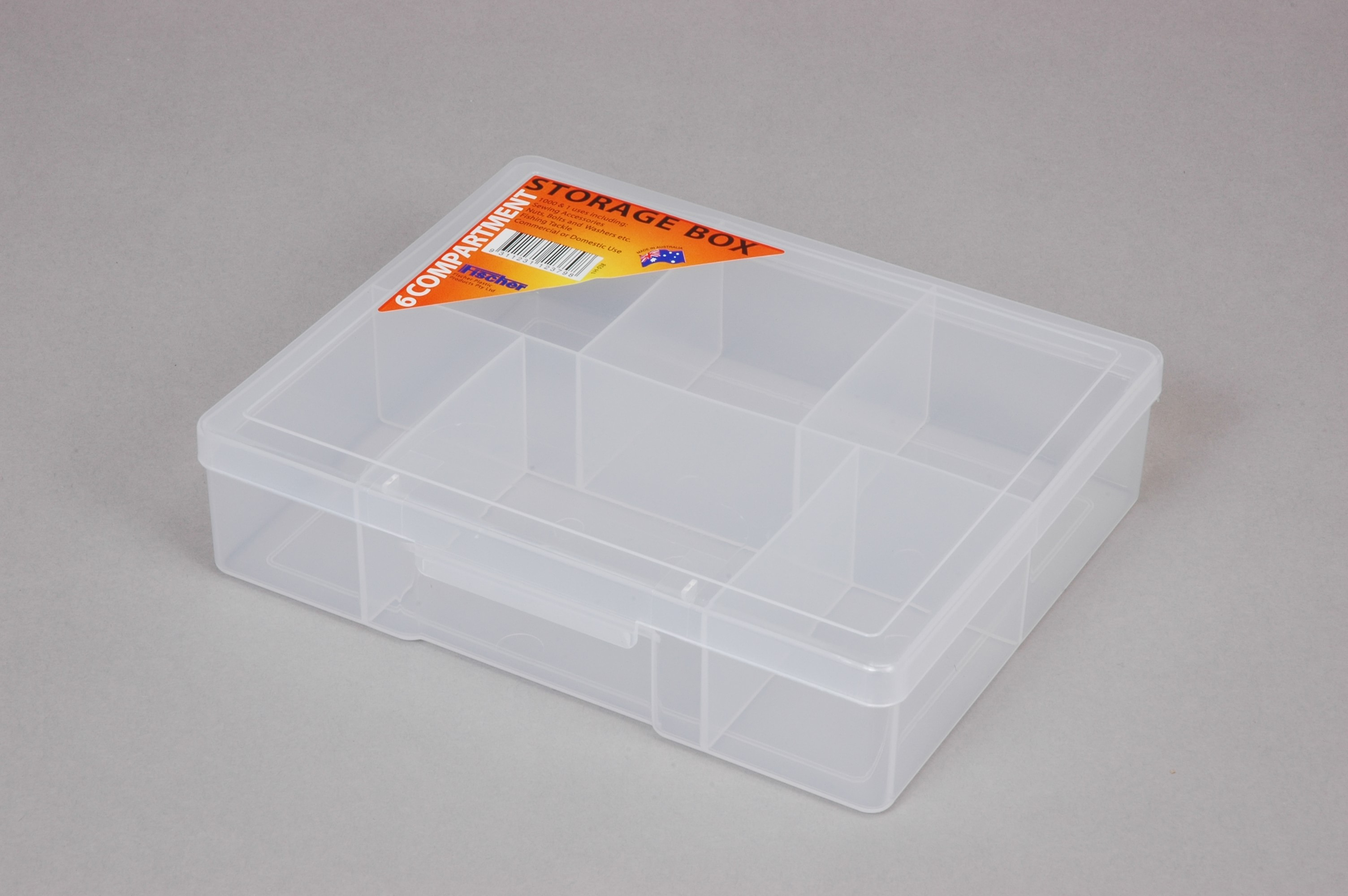 6 Compartment - Medium Storage Box