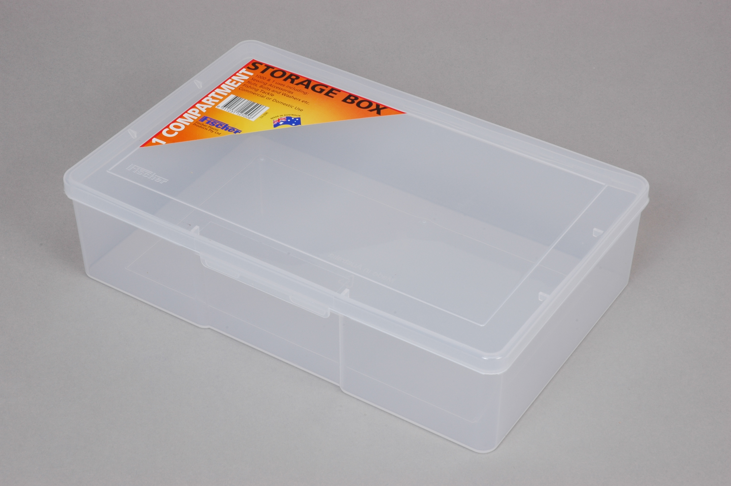 1 Compartment - Large Deep Storage Box