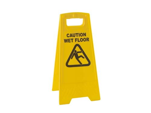 "A Frame ""Caution Wet Floor"" Sign"