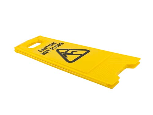 Caution Wet Floor Sign - Collapsed