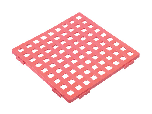SQUARE FLOOR GRATING 508MM GREY (7230)