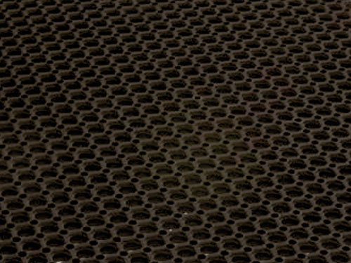 Closeup of DFM016 Sure Step Rubber Mat