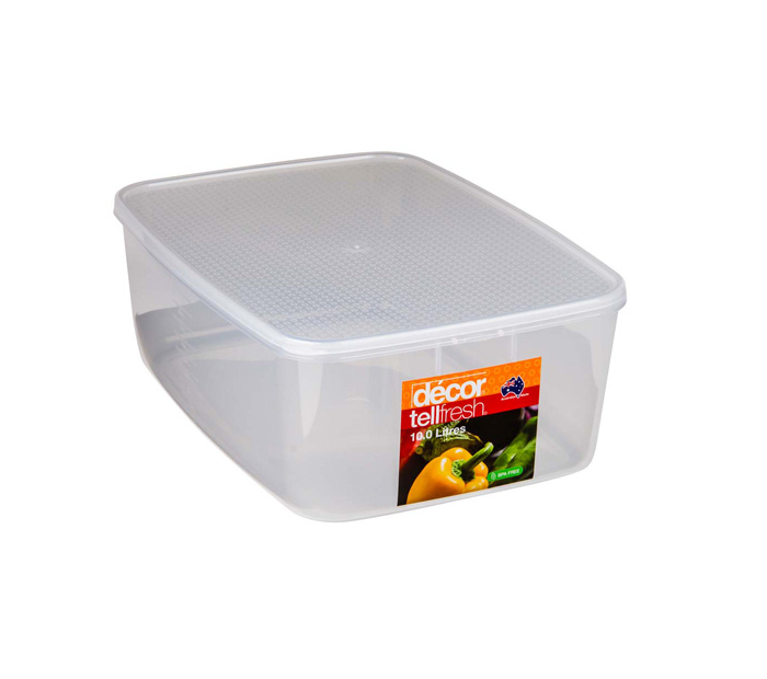 tellfresh food container 10l stowers plastics