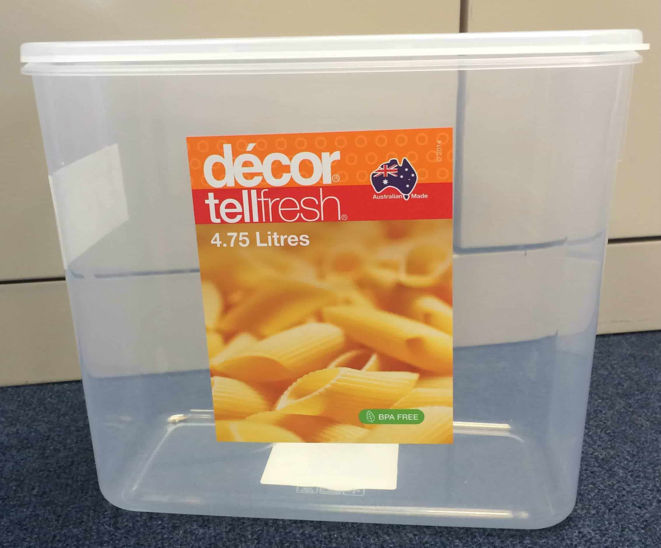 TellFresh Food Container Tall 4.75L