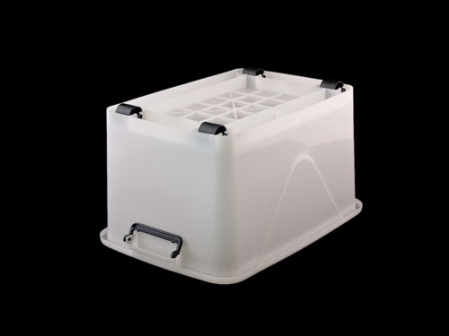 Roller Organiser with Lid 40L - Upside Down