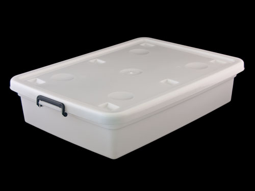 Under Bed Organiser with Lid 60L - With Lid
