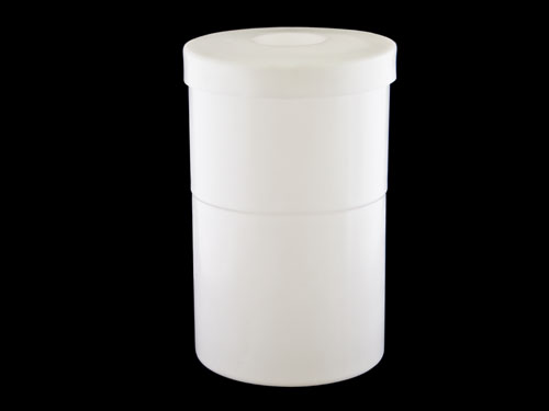 D115 CONTAINER WITH LID 115L NATURAL (3660PL)