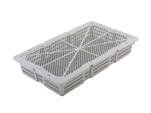 XIN Prawn Crate Vented 16L with Lid (1312)