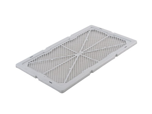 Lid for 1310 Prawn Crate Vented 16L - Top