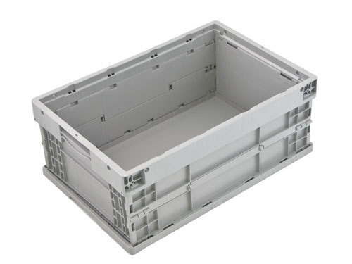 LOGISTICX FOLDING CRATE 42L GREY (1475)