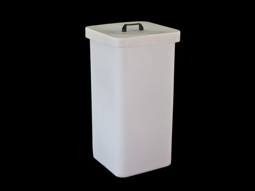 Square Bin 100L with 2433PL Lid