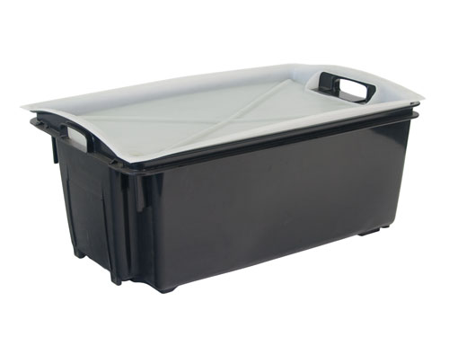AP12 Enviro Fish Crate without Holes 55L with 1241PL Lid