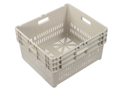XIN Square Vented Crate 84L
