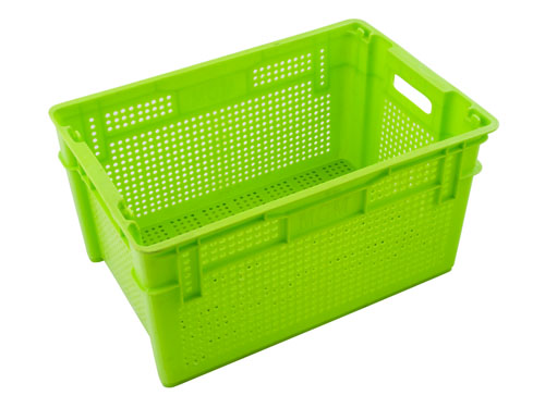 LogisticX Vented Crate 63L