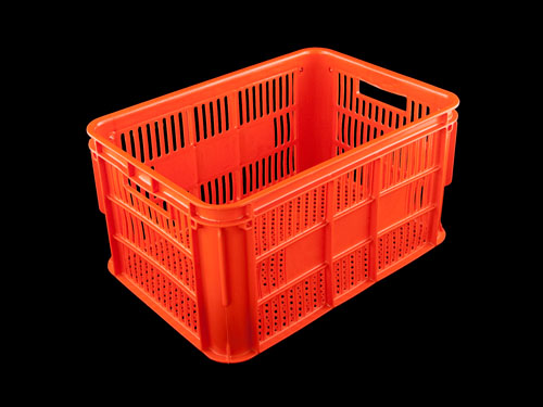 Ventilated Draining Crate 66L