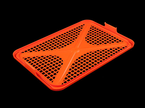 Lid Vented HDPE for Ventilated Draining Crate 66L