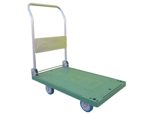 FOLDABLE PLATFORM TROLLEY GREEN (2865)
