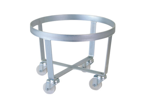 ROUND TROLLEY (HEAVY DUTY) 500MM DIA (2898)