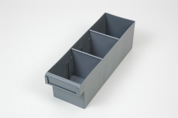 XIN Small Spare Parts Tray With Two Dividers