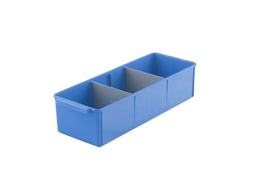 400 SERIES PARTS TRAY MED BLUE (2148)