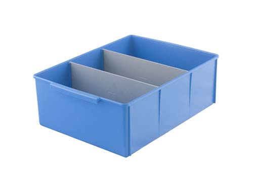 400 SERIES PARTS TRAY LARGE BLUE (2149)