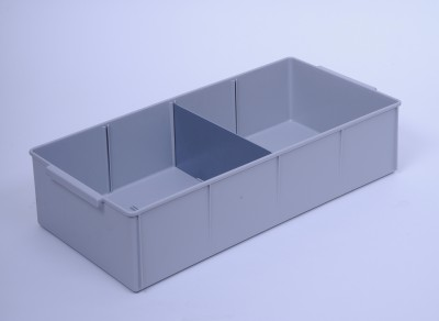 600 SERIES PARTS TRAY LRG GREY (2150) - DIVIDERS NOT INCLUDED