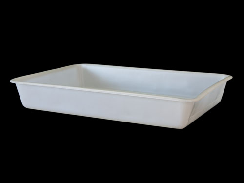 CLOTHING TRAY LDPE 60L NATURAL (1836PL)