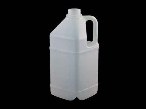 Square Flagon 4L without closure.