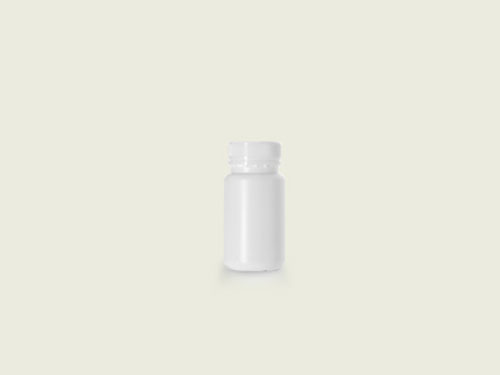 XIN Wide Mouth Tablet Bottle (40mm) 125ml with 5762 Cap.