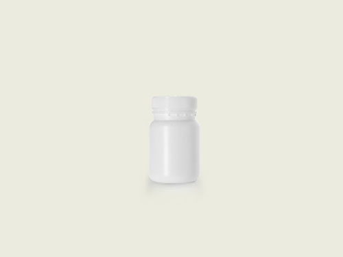 XIN Wide Mouth Tablet Bottle (51mm) 185ml with 5763 Cap.