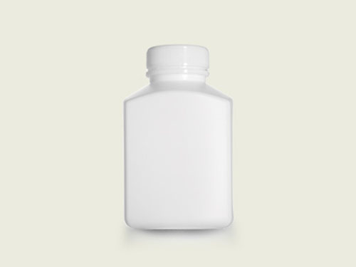 XIN Rectangular Tablet Bottle (40mm) 385ml with 5762 Cap.