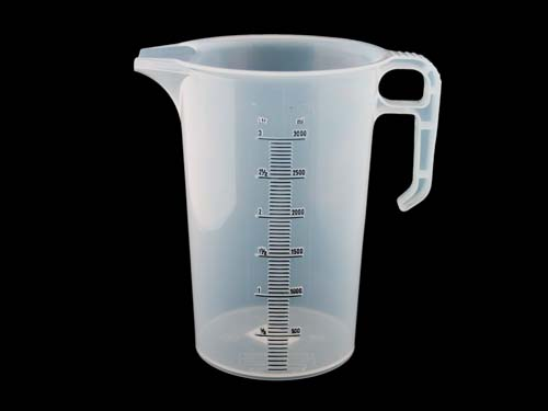 Calibrated Jug 3L