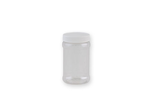 Round PET Jar (53mm) 200ml with 6276 Lid.