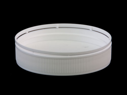 Lid 100mm Wadded Tamper Evident for 6378 - Bottom