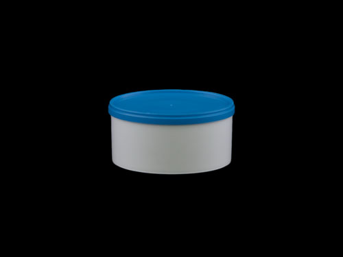 Polypot 250ml with Blue 6511 Lid