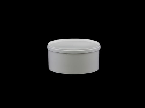Polypot 250ml with White 6511 Lid