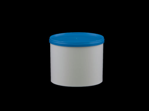 Polypot 500ml with Blue 6511 Lid