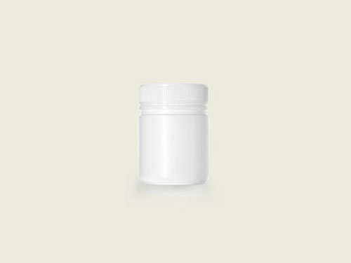 POWDER POT 63MM 270ML WHITE (5730)