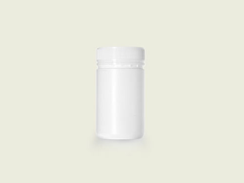 POWDER POT 63MM 400ML WHITE (5732)